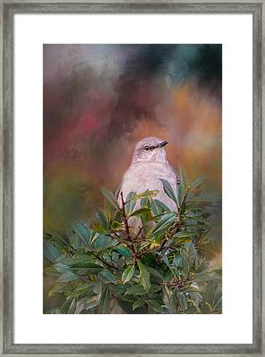 Tilda In The Holly Framed Print