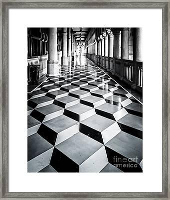 Tile Design Framed Print