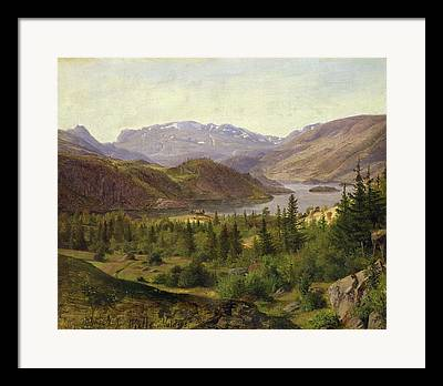 Norwegian Landscape Framed Prints