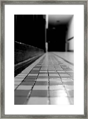 Tile Framed Print