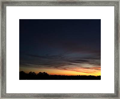 Till Another Tomorrow Framed Print