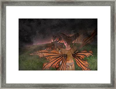 Till I See You Again  Framed Print by Betsy Knapp