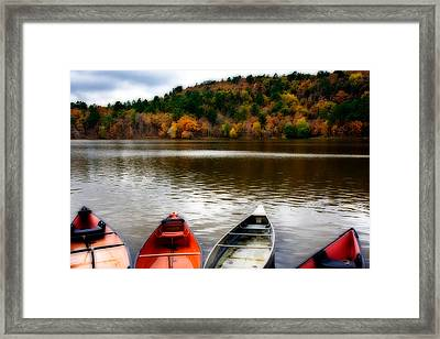 Till Next Season Framed Print