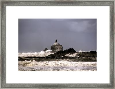 Tillamook Lighthouse Framed Print