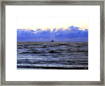 Tillamook Rock Lighthouse Framed Print by Will Borden