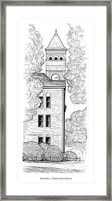 Tillman Hall Framed Print by Greg Joens