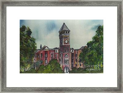 Tillman Hall One Clemson Framed Print by Patrick Grills