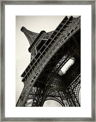 Framed Print featuring the photograph Tilted Eiffel by Stefan Nielsen
