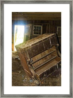 Tilted Framed Print