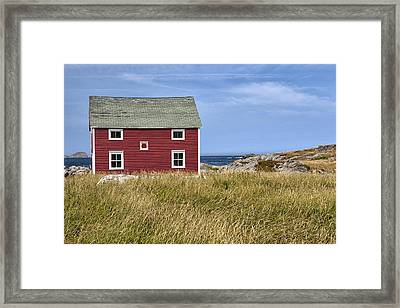 Tilting Framed Print