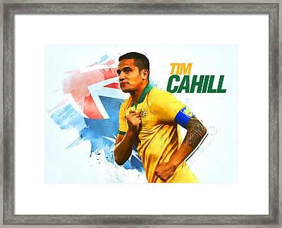 Tim Cahill Framed Print