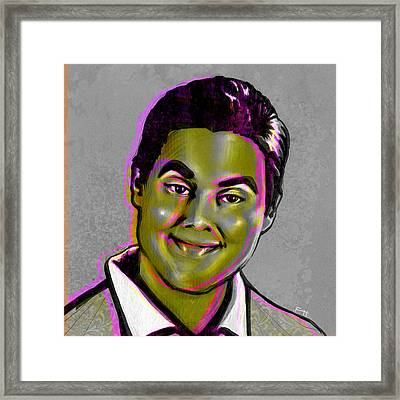 Tim Heidecker Framed Print by Fay Helfer