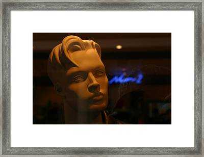 Tim In Thought Framed Print by Jez C Self
