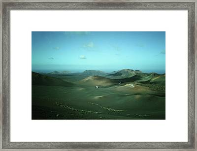 Timanfaya - Lanzarote Framed Print by Cambion Art