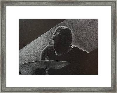Timbale Jim Framed Print by Nick Young
