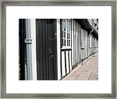 Timber House Framed Print by Tom Gowanlock