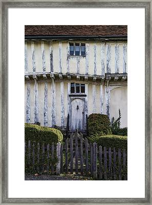 Timbered Cottage Framed Print by Joana Kruse