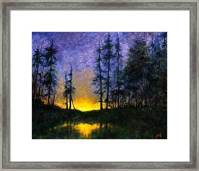Timberline Framed Print by Jim Gola