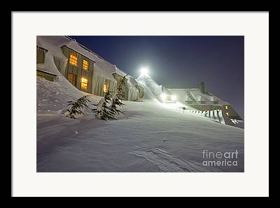 Lots Of Snow Framed Prints