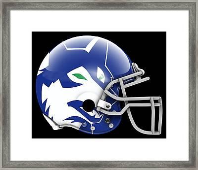 Timberwolves What If Its Football 2 Framed Print by Joe Hamilton