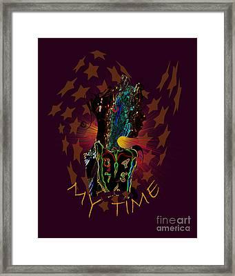 Extraordinary Time M1 Framed Print by Johannes Murat