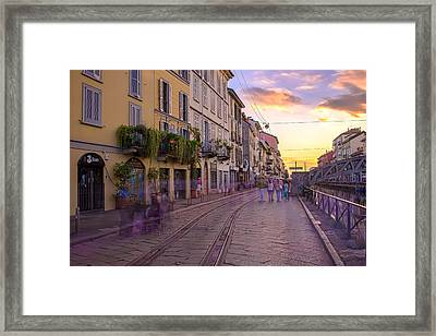 Time After Time Framed Print by Cesare Bargiggia