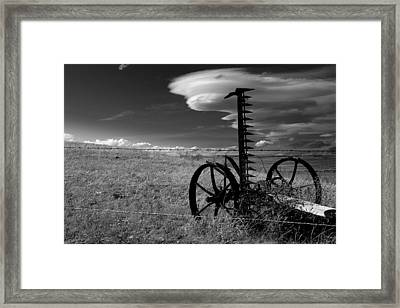 Time... Framed Print by Al  Swasey