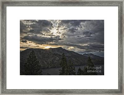 Time And Age Framed Print