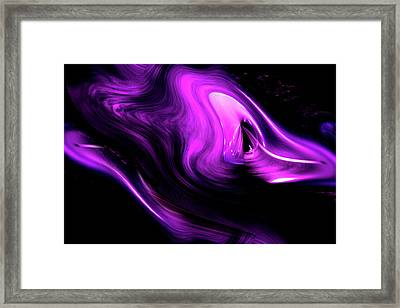 Framed Print featuring the photograph Time And Space by Eric Christopher Jackson
