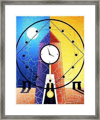 Time And Space Framed Print by Robert Ball