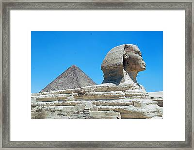 Time  Framed Print by Armand Hebert