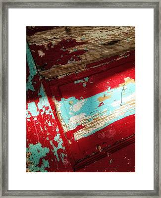 Framed Print featuring the photograph Time At The Door by Olivier Calas