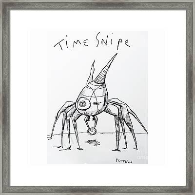 Time Bandit Framed Print