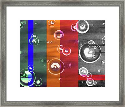 Time Beans - Cellular Replication Abstract Framed Print