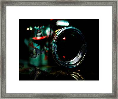 Time Capture Camera Collection Framed Print by Marvin Blaine