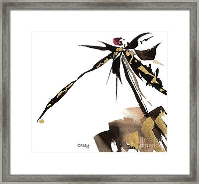 Time Electric Framed Print