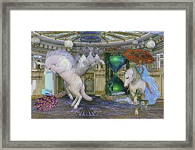 Time Escapes Me Framed Print by Betsy Knapp
