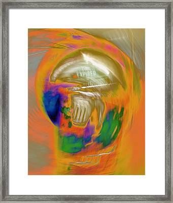 Time Expired Framed Print