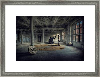 Time Factory Framed Print
