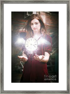 Time Flies Framed Print by Jorgo Photography - Wall Art Gallery