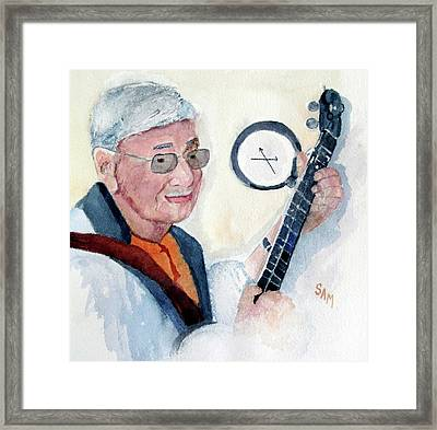 Time Flies Framed Print by Sandy McIntire