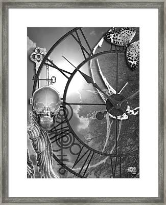 Time For A Change Framed Print by Michele Caporaso