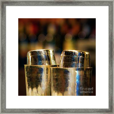Time For A Cocktail Framed Print