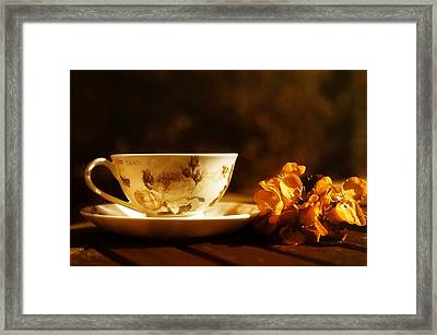 Time For A Cuppa Framed Print