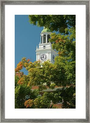 Time For Autumn Framed Print