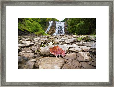 Time For Change Framed Print by Kristopher Schoenleber