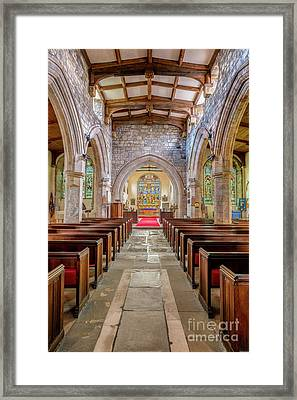 Time For Church Framed Print by Adrian Evans