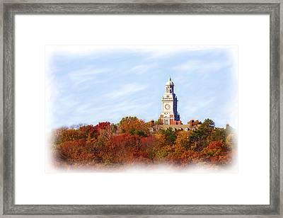 Time For Fall Framed Print by Jim  Darnall