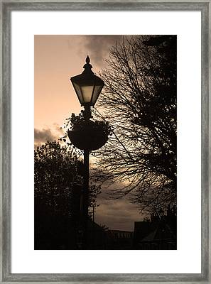 Time For Home Framed Print by Jez C Self