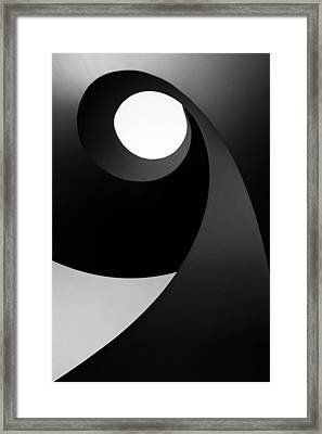 Time For Light Framed Print by Paulo Abrantes